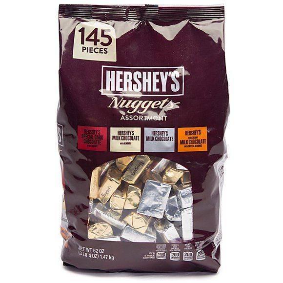 Hershey's Nuggets Chocolates Assortment 52 Oz.