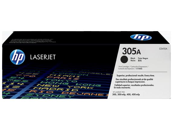HP CE410A 305A Black LaserJet Toner Cartridge