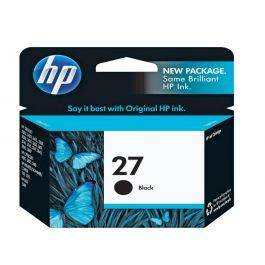 HP 27 Black Inkjet Print Cartridge (10 ml)