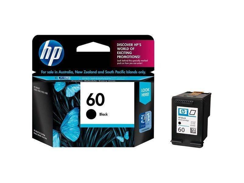 HP Ink 60 Black Ink - 2 Pack