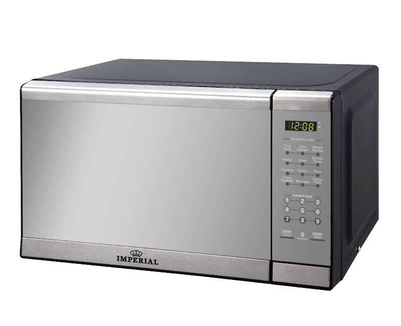 Imperial 0.7CB Mirror Steel Microwave