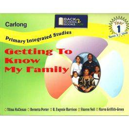 Carlong Primary Integrated Studies (CPIS)  Getting To Know My Family Year 1