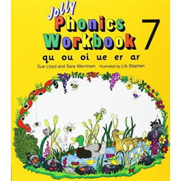 Jolly Phonics Workbook 7