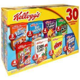Kellogg's Jumbo Assorted 30ct