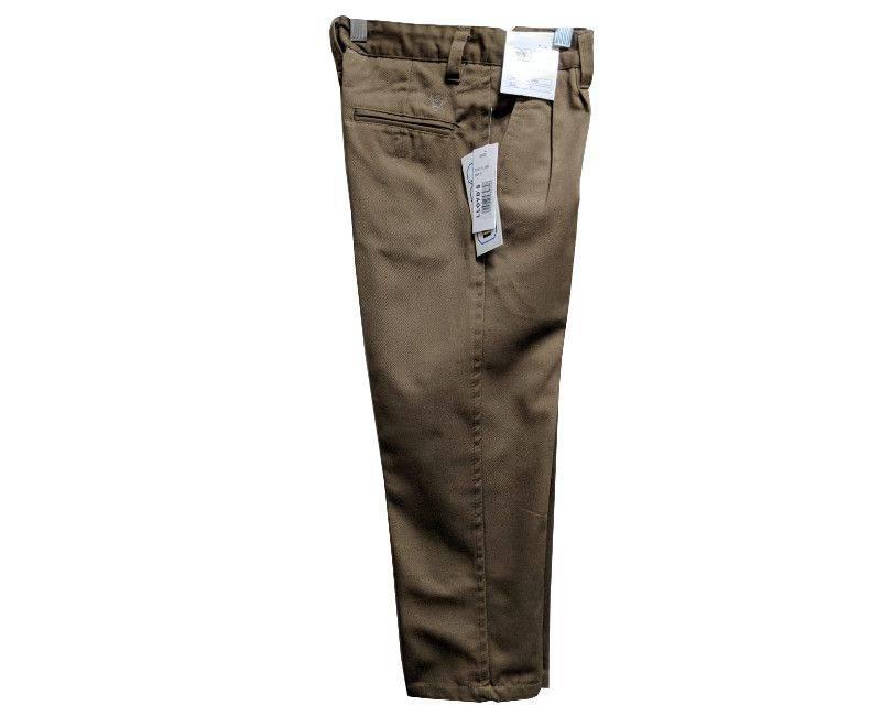 Khaki Uniform Pants For Boys In Sizes 10, 12, 14, 16 & 18-10