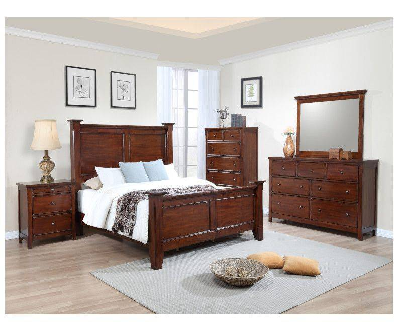 Kingston Queen 5 Piece Bedroom Set