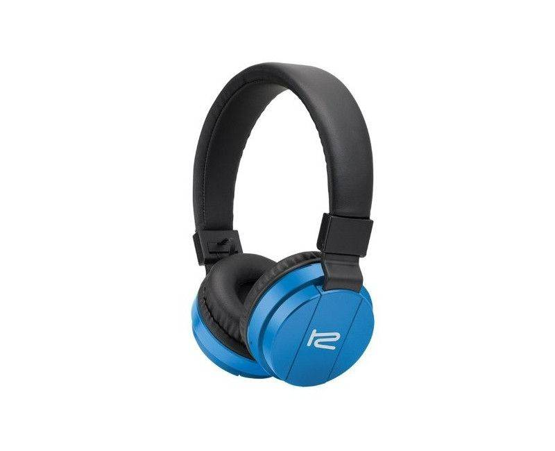 Klip Xtreme Fury Stereo Blue Bluetooth Wireless Headphones