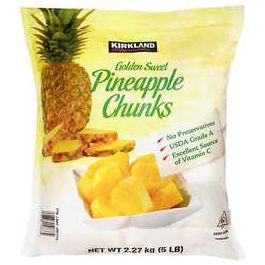Kirkland Signature Pineapple Chunks, 5lbs