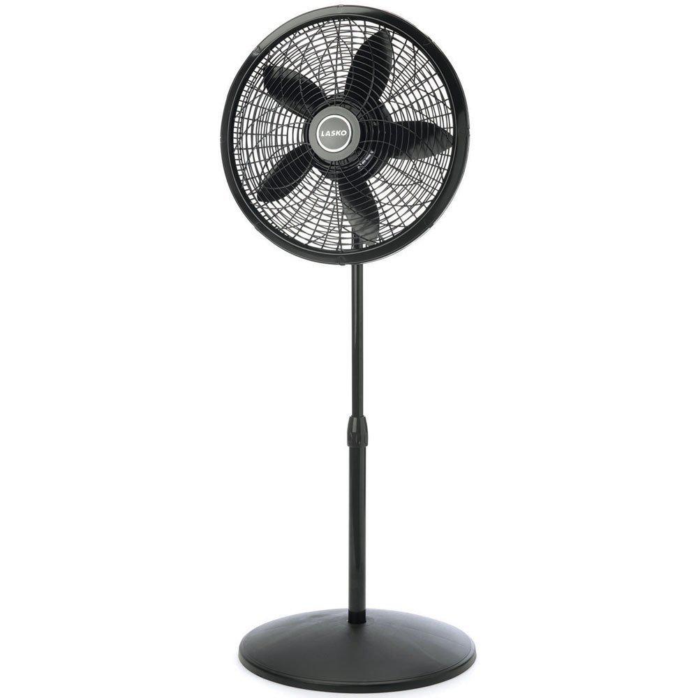 "Lasko 18"" Adjustable Elegance & Performance Pedestal Fan"