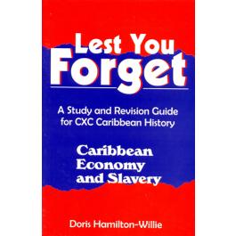 Lest You Forget - Caribbean Economy & Slavery