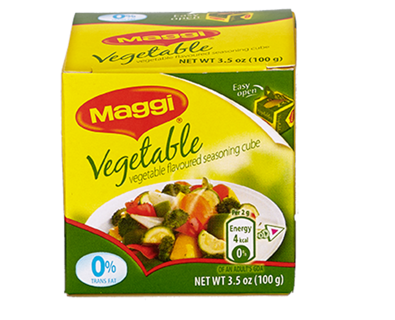 MAGGI Vegetable Flavoured Seasoning Cubes 4g (Box of 25)