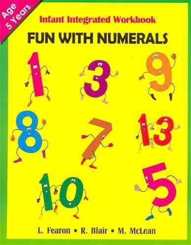 Infant Integrated Workbook Fun With Numerals