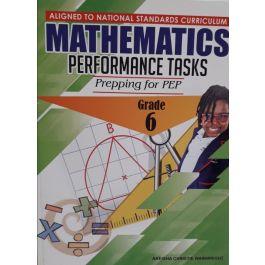 Mathematics Performance Tasks Prepping for PEP Grade 6 by Akeisha Christie Wainwright