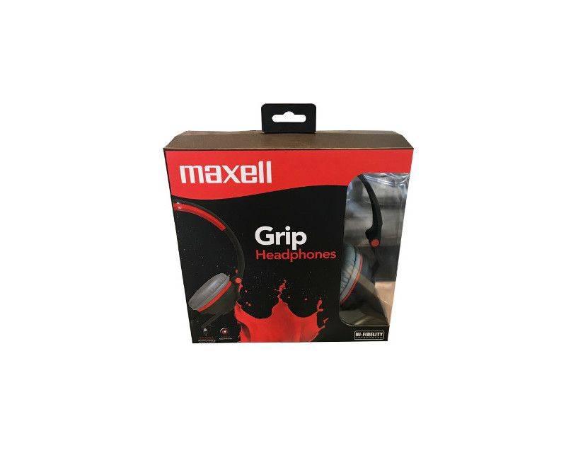 Maxell Grip Hi-Fidelity Foldable Adjustable Headband - Headphones