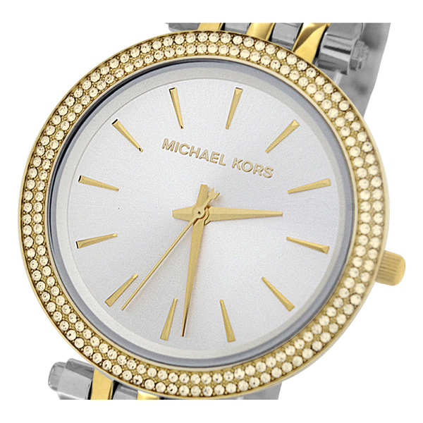 Michael Kors Women's MK3215 Darci Two-Tone Glitz Watch