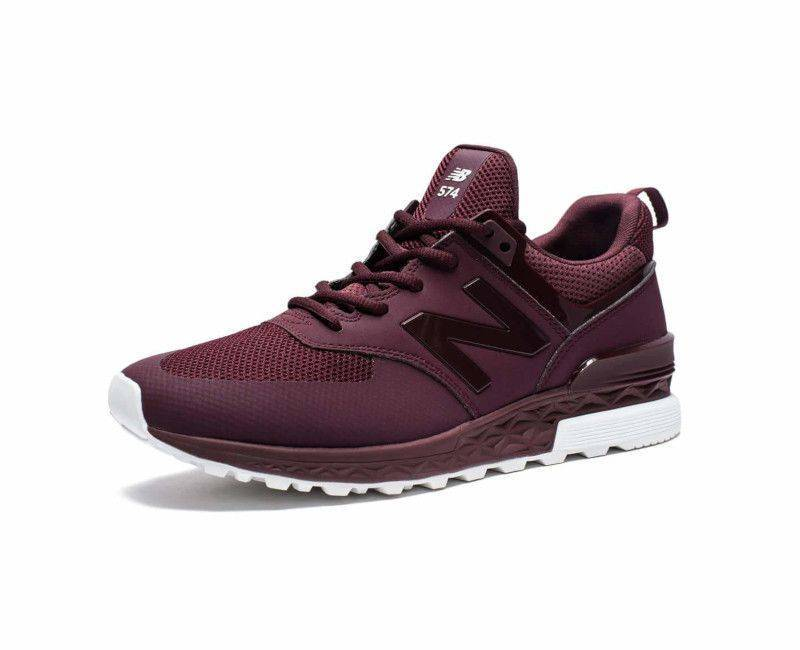 official photos ed417 0be6f NB New Balance Men's MS 574 SBG Burgundy Trainer Sneakers-9