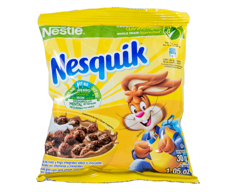 NESQUIK Chocolate Flavoured Cereal 30g Sachet