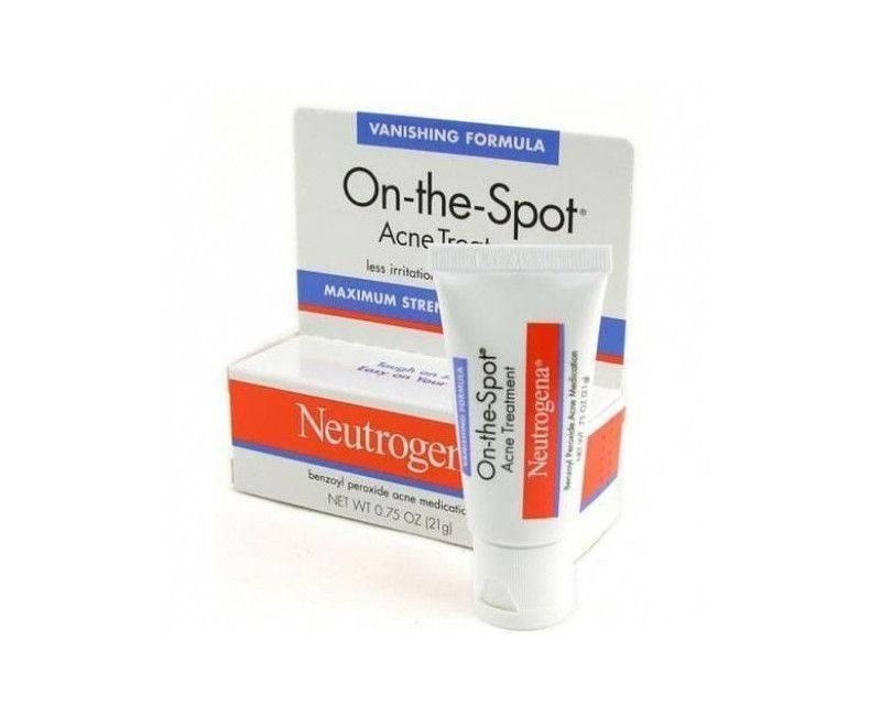 Neutrogena Dermatologist Recommended On-The-Spot Acne Treatment .75 OZ.