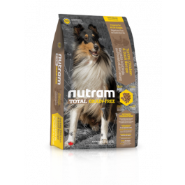 T23 Nutram Total Grain-Free Turkey Chicken and Duck Natural Dog Food 11.34kg