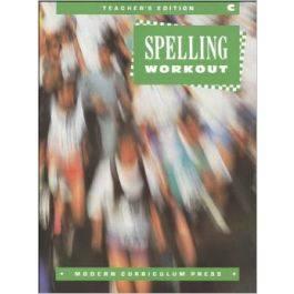 Modern Curriculum Press Spelling Workout C