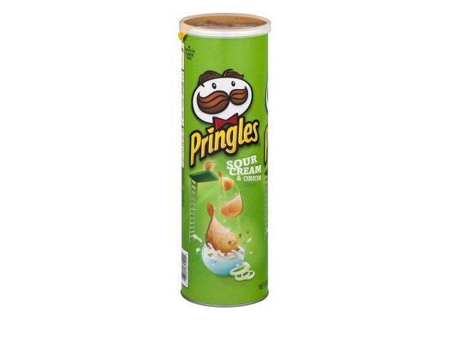 Pringles Sour Cream and Onion 5.57oz -3 Count