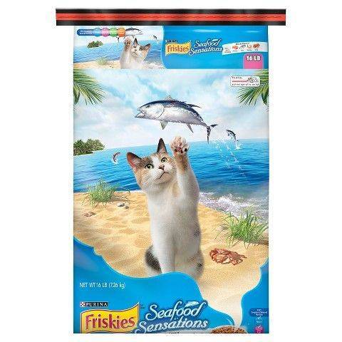 Friskies Seafood Sensation 16lb
