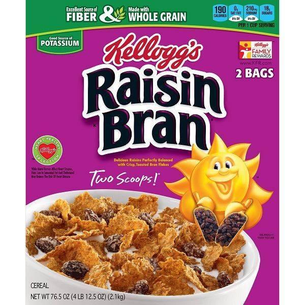 Kellogg's Raisin Bran Cereal 76.5 oz.