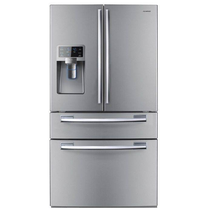 Samsung RFG28MESL1 French Door 28 Cubic Twin Cooling Refrigerator