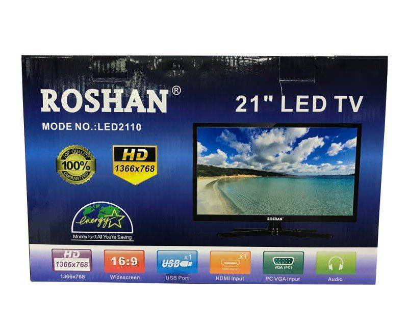 "Roshan 21"" HD Energy Saving USB HDMI LED TV"