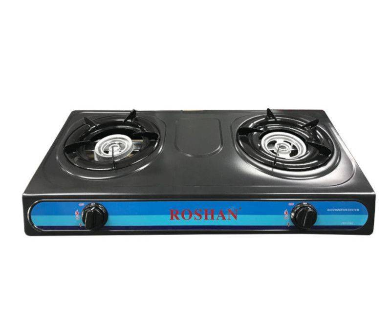 Roshan Table Top 2 Burner Gas Stove JNY - FN2