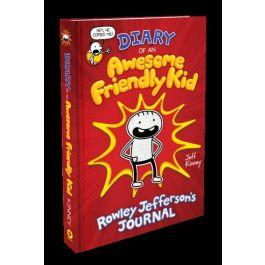 Diary of an Awesome Friendly Kid Rowley Jefferson's Journal by Jeff Kinney