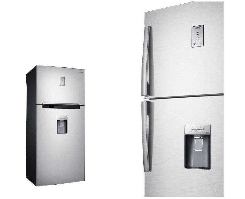 Samsung RT46H5501SL 18 Cubic Refrigerator with Water Dispenser