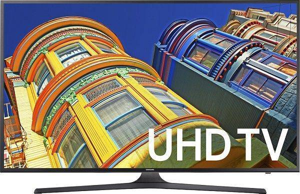 Samsung UN50KU6300 50-Inch 4K Ultra HD Smart LED TV