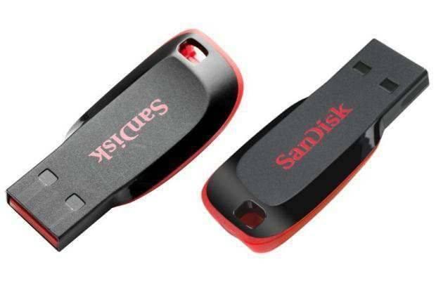 SanDisk USB FlashDrive 4GB CruzerBlade Z50