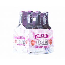 Smirnoff Ice Red Berry Crush 6 x 275ml