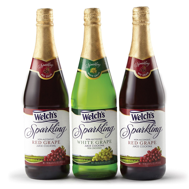 Welch's Sparkling Variety Pack (25.4 oz. bottles, 3 count)
