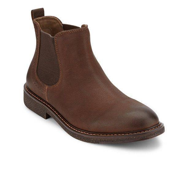 Dockers Stanwell Chocolate Boots for Men-10.5