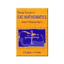 Study Guide to CXC Mathematics