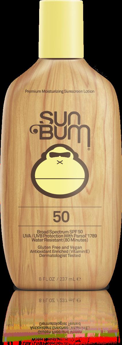 Sun Bum SPF 50 Moisturizing Sunscreen Lotion 8 FL. OZ