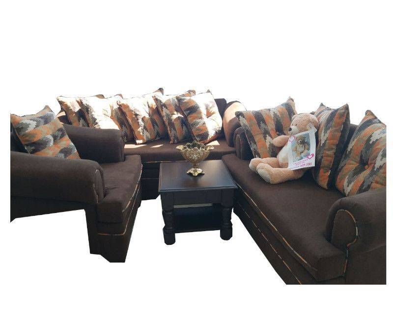 Sunflower 3 Piece Sofa Set with Cushions
