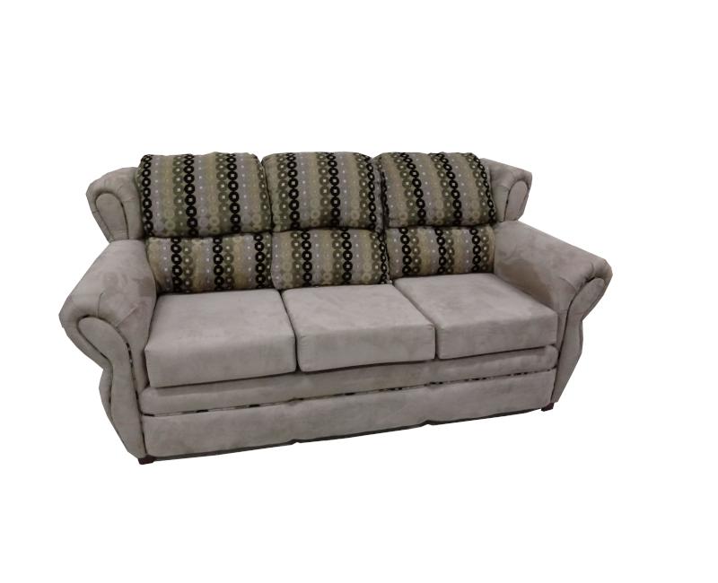 Traditional Microfiber Sofa