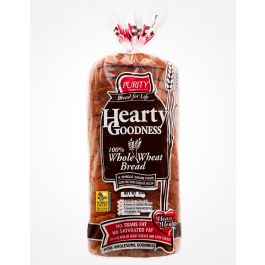 Purity Hearty Goodness 100% Whole Wheat Bread 500g