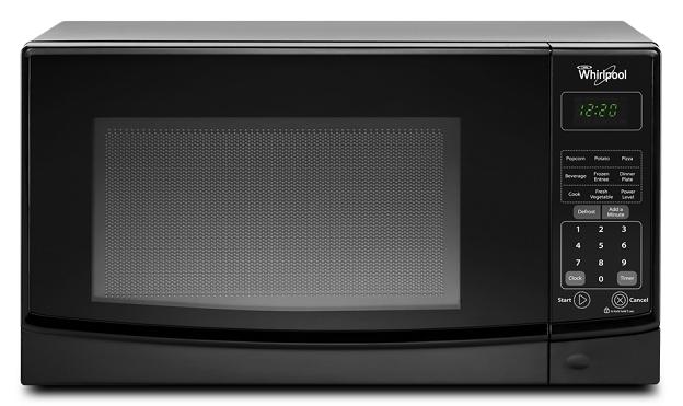 Whirlpool WMC10007AB Countertop Microwave in Black