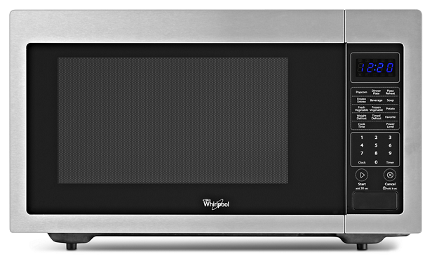 Whirlpool WMC30516AS 1.6 cu. ft. Countertop Microwave in Stainless Steel