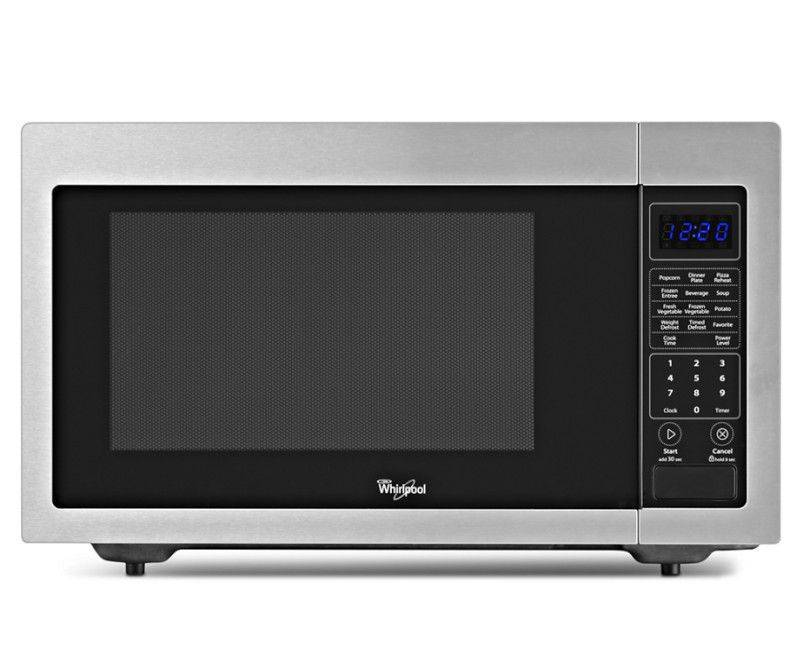 Whirlpool 1.6 Cu.Ft. 110V Stainless Steel Microwave
