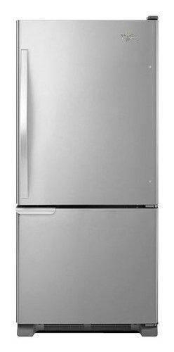 Whirlpool WRB119WFBM Refrigerator 19 Cubic Stainless Steel Bottom Freezer