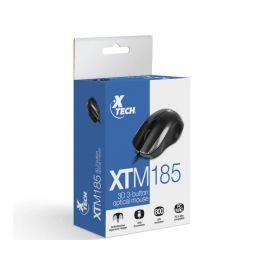 Xtech XTM-185 USB Optical Ergornomic 800DPI Mouse