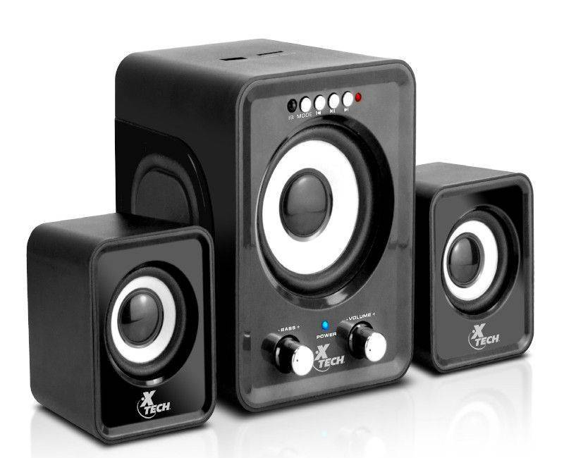 Xtech XTS375BK 2.1 Channel Speakers
