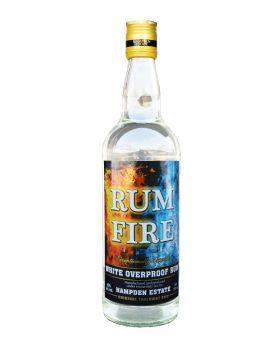 Rum Fire White Overproof Rum 750 ml