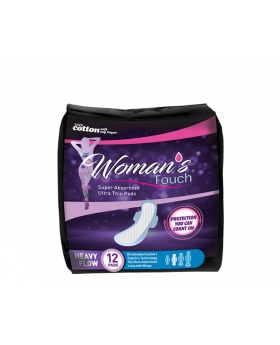 Woman's Touch Super Absorbent & Ultra Thin Pads - Heavy Flow